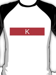 Alphabet Collection - Kilo Red T-Shirt