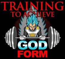 Training to achieve God Form  by boggsnicolas