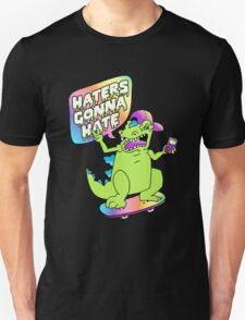 """Haters Gonna Hate"" Reptar (black) T-Shirt"
