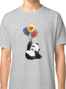 I Love You Panda Classic T-Shirt