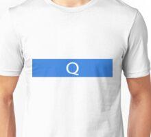 Alphabet Collection - Quebec Blue Unisex T-Shirt