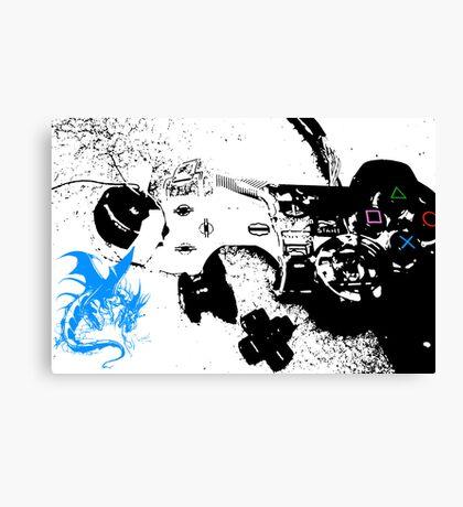 Controller 2 Canvas Print