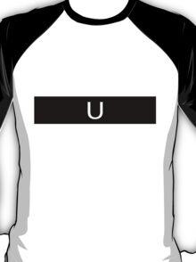 Alphabet Collection - Uniform Black T-Shirt