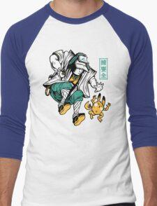 UKIYO-EMON TRAINER Men's Baseball ¾ T-Shirt