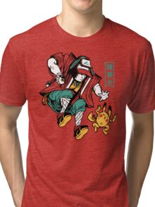 UKIYO-EMON TRAINER Tri-blend T-Shirt