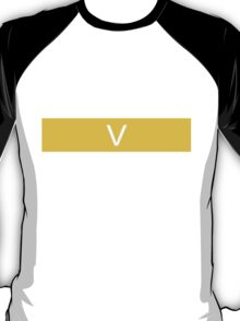 Alphabet Collection - Victor Yellow T-Shirt