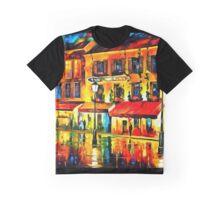 Paris, Night Montmartre Graphic T-Shirt