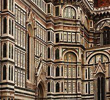 Duomo Facade Italy by Bob Christopher