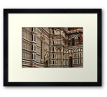 Duomo Facade Italy Framed Print