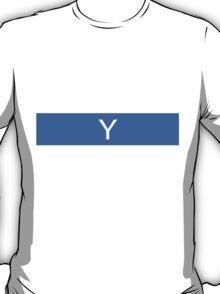Alphabet Collection - Yankee Blue T-Shirt