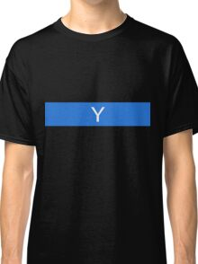 Alphabet Collection - Yankee Blue Classic T-Shirt
