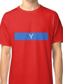 Alphabet Collection - Yankee Blue Classic T-Shirt