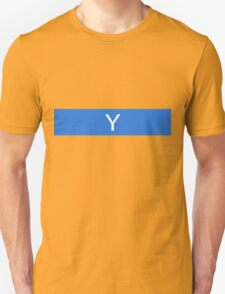 Alphabet Collection - Yankee Blue Unisex T-Shirt