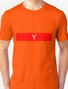 Alphabet Collection - Yankee Red Unisex T-Shirt