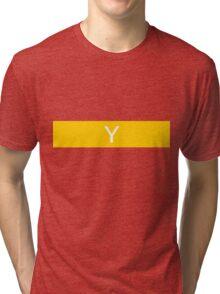 Alphabet Collection - Yankee Yellow Tri-blend T-Shirt