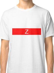 Alphabet Collection - Zulu Red Classic T-Shirt