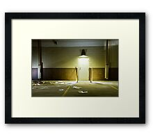 Empty Space 1 Framed Print