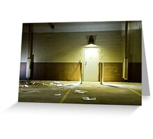 Empty Space 1 Greeting Card
