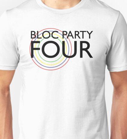 Bloc Party - Four (Black) Unisex T-Shirt
