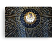 Duomo St. Peter's Basilica Rome Canvas Print