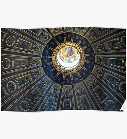 Duomo St. Peter's Basilica Rome Poster