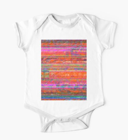 0233 Abstract Thought One Piece - Short Sleeve