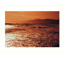 Pacific Ocean-Southern CA Art Print