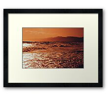 Pacific Ocean-Southern CA Framed Print