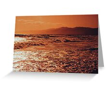 Pacific Ocean-Southern CA Greeting Card