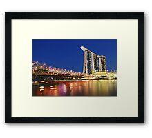 Double Helix Bridge Framed Print