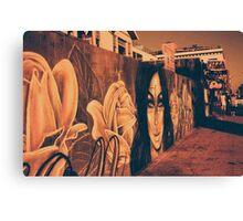 Street Art in California Canvas Print