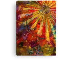 Butterfly in the Summer Sun Canvas Print