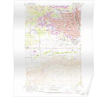 USGS Topo Map Washington State WA Yakima West 244819 1958 24000 Poster