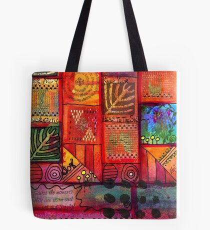 There are a Whole Lot of WINDOWS in this here House Tote Bag