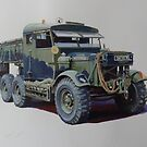 Scammell lorries by Mike Jeffries