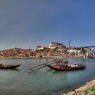 Porto - Rabelos by Stefan Trenker
