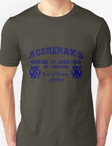 Acererak's School of Jousting Unisex T-Shirt