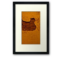 Puzzle Piece Wall Framed Print