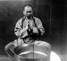 Buddhist Monk by Tuda Sarian