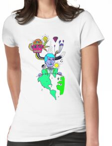Indie Delight (Color Version) Womens Fitted T-Shirt