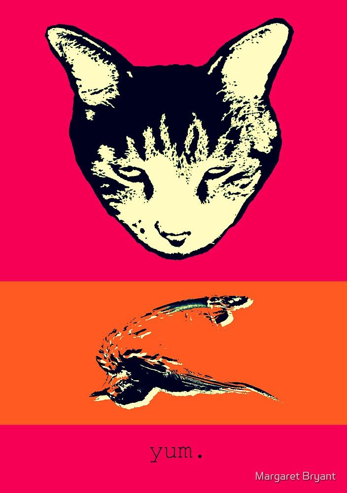 Cat Bird Yum by Margaret Bryant