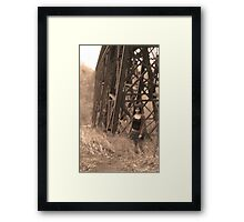 Wind Through the Willows V2 Framed Print