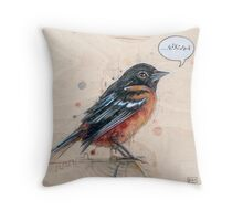 A Bird for Kurt Throw Pillow