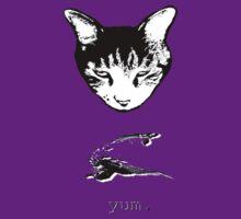 Cat Bird Yum T-shirt/Hoodie by Margaret Bryant