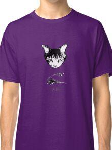 Cat Bird Yum T-shirt/Hoodie Classic T-Shirt