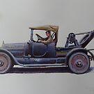 Mystery breakdown vehicle. by Mike Jeffries