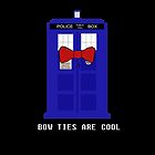Bow Ties Are Cool iPhone Case by TesniJade