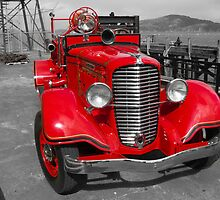 Alcatraz Fire Truck by Tim Topping