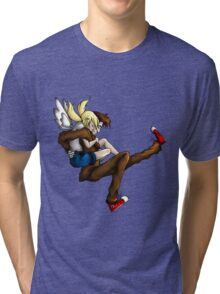 My Lovely Companion--DoctorDerpy Tri-blend T-Shirt