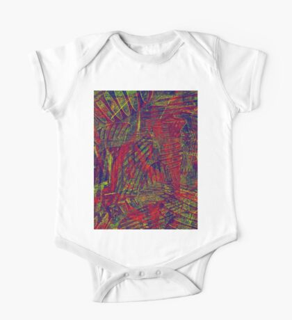0312 Abstract Thought One Piece - Short Sleeve